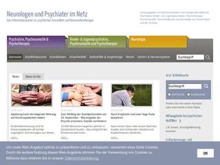 Neurologen und Psychiater im Netz