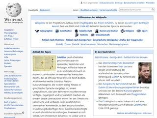 Zwangserkrankungen bei Wikipedia