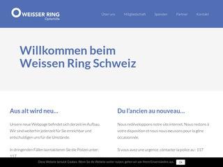Weisser Ring Schweiz